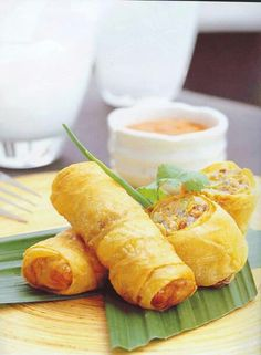 Thai appetizer Thai Appetizer, Asian Appetizers, Thai Recipes, Cooking Recipes, Flare, Foods, Food Food, Food Items, Chef Recipes