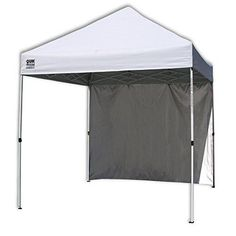 Outdoor Instant Canopy W/ Wall Panel Shade Sturdy Lightweight Portable Camping  #nonbranded