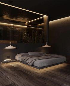 Small House Interior Design, Black Interior Design, Luxury Bedroom Design, Dream House Interior, Luxury Homes Dream Houses, Home Room Design, Dream Home Design, Bedroom Designs, Dark House