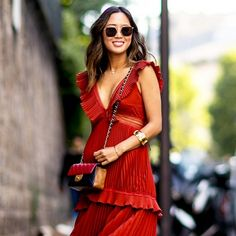 PSA: You Probably Need a Red Dress This Season | WhoWhatWear