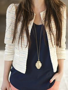3 Reasons Why The Bouclé Jacket Should Become An Essential Piece Of Your Wardrobe,,,http://www.bdcost.com/blazers