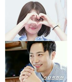 Jin Goo and Kim Ji-won