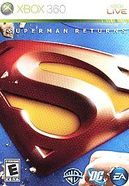 Superman Returns: The Video Game (Xbox 360, 2006) COMPLETE Excellent Condition #videogames #xbox #xbox360 #superman #supermanreturns