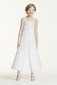 Satin A-line gown with beaded metallic embroidery bd2843ed7a2d