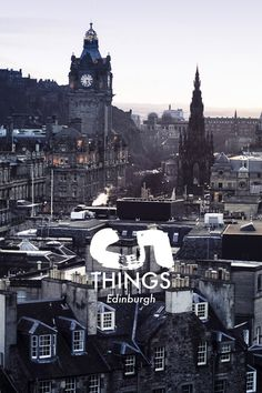 A local resident's guide to Edinburgh, Scotland.