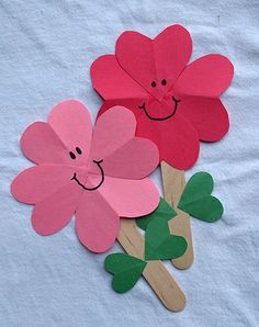 We heart these #flowers! They're perfect for preschoolers.