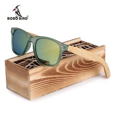 Cheap sun glass, Buy Quality polar men directly from China women polarized sunglasses Suppliers: BOBO BIRD Brand Luxury Men and Women Polarized Sunglasses Bamboo Wood Holder Sun Glass with Retail Wood Box as Gifts 2017 Sunglasses Price, Uv400 Sunglasses, Wooden Sunglasses, Polarized Sunglasses, Sunglasses Accessories, Mirrored Sunglasses, Mens Sunglasses, Trending Sunglasses, Stylish Watches