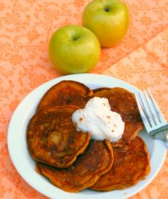 Apple Pumpkin Pancakes for Sunday Supper