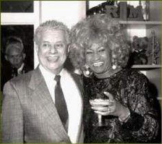 Two great salsa legends,  Tito Puente and the Queen of Salsa Celia Cruz (RIP)