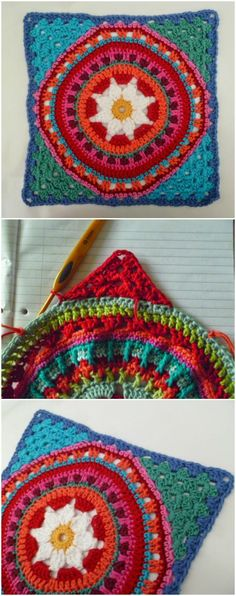 60+ Free Crochet Mandala Patterns - Page 6 of 12 - DIY & Crafts