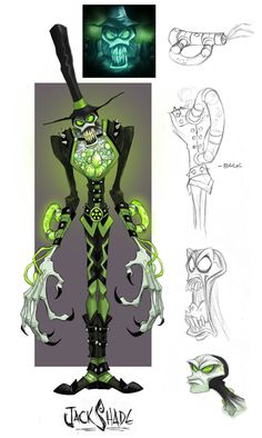 ArtStation - Wildstar Online Character Development, jeff merghart
