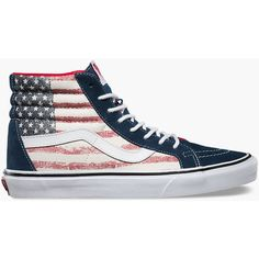 df49103dfebe Vans Americana Sk8-Hi Reissue Womens Shoes ( 70) ❤ liked on Polyvore  featuring