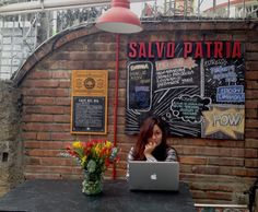 @Salvopatria. Octubre 2013 #chalkboards #restaurants #comic