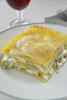 La Cuoca Dentro: Lasagna bianca ai carciofi