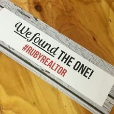 We love doing custom Testimonial Props, can't wait to see it in the hands of new homeowners! www.atrestore.com