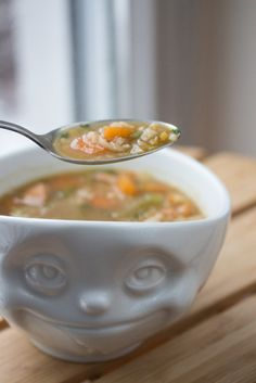 One Pot Reis-Gemüse-Boullion mit Ingwer 6