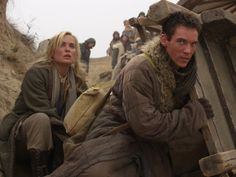 Still of Jonathan Rhys Meyers and Radha Mitchell in The Children of Huang Shi (2008)