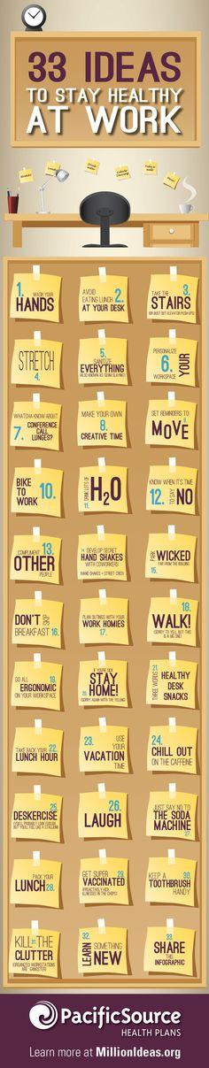 Ideas for Healthy work_blog