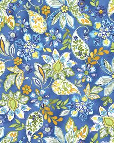 Brianna - Paisley Petals - Quilt Fabrics from www.eQuilter.com