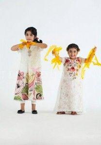Tena Durrani Summer Girls Kid Eid Fashion Collection 2014 1 208x300 Tena Durrani Summer Girls Kid Eid Fashion Collection 2014