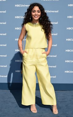 Vanessa Hudgens from NBCUniversal Upfront 2016: Red Carpet Arrivals | E! Online