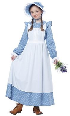 Country Pioneer Girl Costume