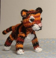 crochet tiger - Google Search