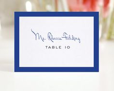 Wedding Place Cards Escort Cards or Seating Cards - Modern Luxe - Deposit to Get Started