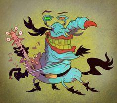 Guitar Gromble by Garvals on DeviantArt