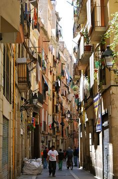 El Raval, one of our favorite hoods in Barcelona