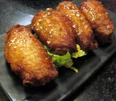 Tempura chicken wings is very delicious appetizer,an excellent choice for any party.