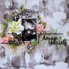 Mary's Crafty Moments: ''Amaze Yourself'' - A DT Layout for 2Crafty Chipb...