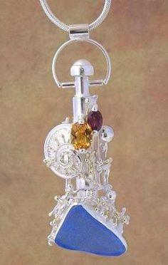 Konst Smycken, Handgjorda Smycken, Hänge