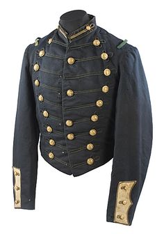 Tenn. Milita? Dress Frock Coat, - Cowan's Auctions