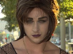 men gender reversal makeup - Google Search