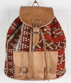 kilim back pack