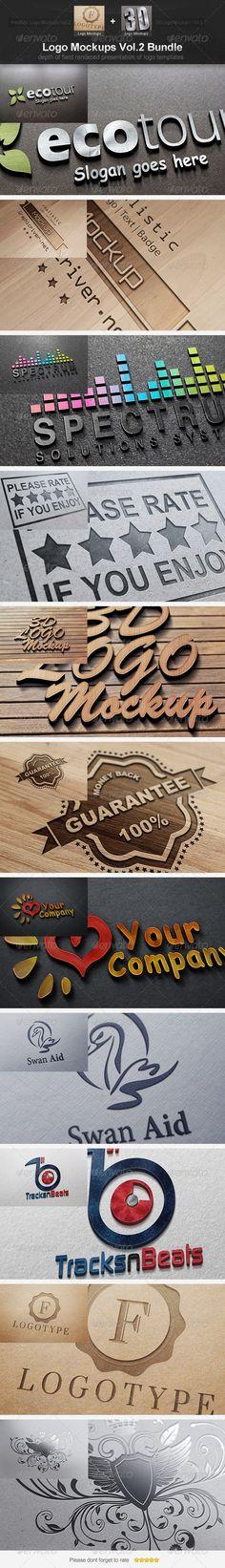 Logo Mockups Vol.2 Bundle ---------------------------------- check out this #creative #design #mock_up http://graphicriver.net/item/logo-mockups-vol2-bundle/4615828?ref=25EGY