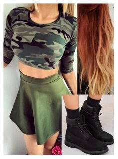 """Untitled #9378"" by carmellahowyoudoin ❤ liked on Polyvore featuring Timberland"