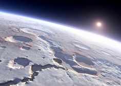 Looks like a Mars from orbit