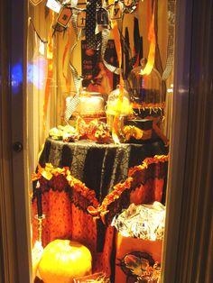 Disneyland Halloween shop window
