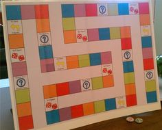 SINGING TIME IDEA: Primary Chorister Game Board