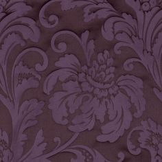 Purple Floral Poly Fabric by the Yard | Mood Fabrics $34.95 yd
