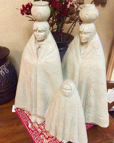 Native American Art statues Closetconnoisseurresale.com #saresale #SanAntonioresale #bestresale #consignment #closetconnoisseur  #closetconnoisseurresale #homedecor #homedecoration #art #furniture #jewelry
