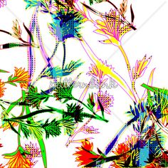 'Bold Graphic Floral' @patternbank #patterns #prints #textileprints #florals #abstract #graphic #interiorprints #floralprints #floralpattern #alloverprints #womenswear #swimwear