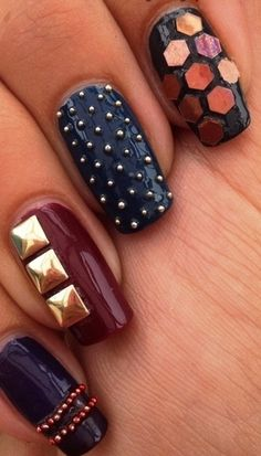Bead Nail Art Nuthinbutanailthing Caviar Nails Hot Hair And
