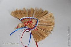 """Традиционная игрушка из лыка """"Птица счастья"""" фото 1"""