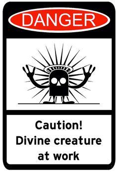 Caution_Divine_Creature | Flickr - Photo Sharing!