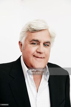 Comedian and Television host <a gi-track='captionPersonalityLinkClicked' href=/galleries/search?phrase=Jay+Leno+-+Television+Host&family=editorial&specificpeople=156431 ng-click='$event.stopPropagation()'>Jay Leno</a> of NBC's of '<a gi-track='captionPersonalityLinkClicked' href=/galleries/search?phrase=Jay+Leno+-+Television+Host&family=editorial&specificpeople=156431 ng-click='$event.stopPropagation()'>Jay Leno</a>'s Garage' poses in the Getty Images Portrait Studio powered by Samsung…