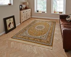 Regal 0227A Gold Cream Rugs - Buy 0227A Gold Cream Rugs Online from Rugs Direct