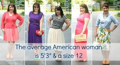 """Wardrobe Oxygen: Why I Blog my Daily Outfits.  The average American woman is 5'3"""" & a size 12 #fashion #bodyimage"""